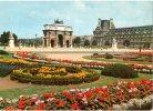 """PARIS : """"Jardin Des Tuileries Et Arc De Triomphe Du Carrousel"""" - Arc De Triomphe"""