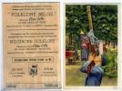 Image Chocolat Cote Or Folklore Belge N°81 Tir Arbalete Perche Superbe Format 12x8 Cm - Côte D'Or
