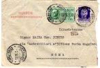 Lettera Per Espresso Da Pantelleria A Roma. 02/10/1935 - Storia Postale