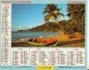 ALMANACH DES PTT  1994 RHONE - Calendriers