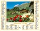 ALMANACH DES PTT  1987 RHONE - Calendriers