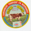 E802 / ETIQUETTE FROMAGE -CAMEMBERT  BISSON -  GILLOT  St HILAIRE DE BRIOUZE  ORNE - Fromage