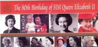 Samoa / The 80th Birthday Of HM Queen Elizabeth II - Samoa (Staat)