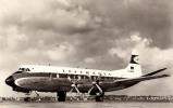 AVIATION CIVILE - ENV. 1955 - 1960 - QUADRIMOTEUR à HÉLICES : VISCOUNT 814 De LUFTHANSA (i-700) - 1946-....: Moderne