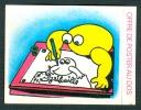"""CHROMOS : LA VACHE QUI RIT, """"Opération Casimir, L´Ile Aux Enfants"""", Adhésif, Le Perray - Trade Cards"""