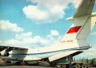 AVIATION CIVILE : ANNÉE : 1983 - AVION ILYUSHIN : IL 76 Au SOL [ UNDER LOADING ] - AEROFLOT - U.S.S.R. (i-715) - 1946-....: Moderne