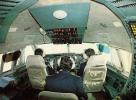 AVIATION CIVILE : ANNÉE : 1983 - AVION ILYUSHIN : IL 86 Au SOL [ INSIDE THE COCKPIT ] - AEROFLOT - U.S.S.R. (i-716) - 1946-....: Moderne