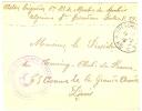 REF LBON4 - TRESOR ET POSTES N°89 14/8/1915 - CACHET REGIMENT DE MARCHE DE SPAHIS - Postmark Collection (Covers)