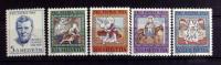 SWITZERLAND # B355-B359.  PRO PATRIA - 1966. MINT LIGHTLY HINGED. - Unused Stamps
