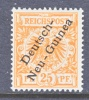 Germany  New Guinea  5  * - Colony: German New Guinea