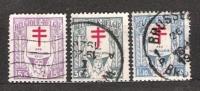 I - Belgique N° 234 à 236 - Used Stamps