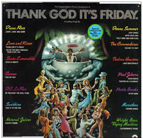 "* 2LP + 12"" *  THANK GOD IT'S FRIDAY  (Original Soundtrack) (USA 1978) - Filmmuziek"