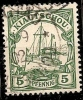 KIAUTSCHOU.CHINE.COLONIE ALLEMANDE.1901.MICHEL N°6.OBLITERE.H15 - Colonie: Kiautchou