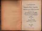 RARE: Livre manuscrit � l�usage des �l�ves DROGUISTES-1886- par Mr. Gille(m�decin) Recueillies par