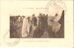 LE MAROC - Colonne De MARRAKESCH  - Le Colonel Mangin Et Le Kalifat De Dennat (avec Tampon) - Carte Animée, Bon état - Marrakech