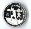 Nepal 1993 500 Rupees 925 Silber Oz PP Ski Langlauf - Népal