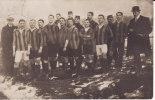 LABRY -CARTE-PHOTO -1914- Equipe De Football (peut -être Militaire ?) - RARE- - Ohne Zuordnung