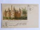 """Chateau De BONNETABLE .Publicité """" SIROP LAVOIX """", Carte Postale CAPMARTIN N° 19 - Bonnetable"""