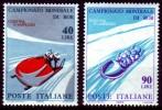 Italien Italia - Weltmeisterschaften Im Bobfahren, Cortina D´Ampezzo 1966 - Wintersport (Sonstige)