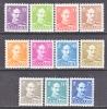 Denmark 280-87a    **  1942-6  Issue - 1913-47 (Christian X)