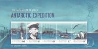 Australian Antarctic 2001 Antarctic Expedition MS MNH - Australian Antarctic Territory (AAT)