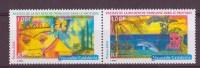 NOUVELLE-CALEDONIE N°932/33** NEUF SANS CHARNIERE  PAPILLON ET VISAGE - Nueva Caledonia