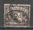 Grande Bretagne - Taxe - 1924/31 - Y&T 11 - S&G D13 - Oblit. - Postage Due