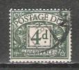 Grande Bretagne - Taxe - 1937/8 - Y&T 28 - S&G D31 - Oblit. - Taxes