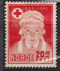 Norway 1945 Mi. 307     20 Ø + 10 Ø Red Cross Rotes Kreuz Croix Rouge MH* - Norwegen