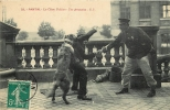 Les Chiens Policiers, Une Arrestation, Pantin. 2 Scans. Edition G F - Polizei - Gendarmerie