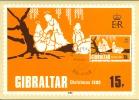Carte Maximum - Gibraltar , Christmas  12.11.1980 - Gibraltar