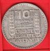 PIECE MONNAIE 10 FRANCS 1933  - GRAVEUR TURIN  - ARGENT  - 3ième REPUBLIQUE 1871 - 1940 VOIR LES SCANS... - France