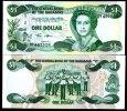 BAHAMAS 1 DOLLARS 2002 P 71 UNC - Bahamas