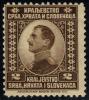 Yugoslavia #1 King Alexander, Unused (0.20) - Unclassified