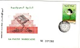 6 Enveloppes Premier Jour Faune Et Minéraux - Maroc (1956-...)
