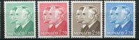Monaco -YT N° 1479/82 - Princes Rainier III Et Albert - Sin Clasificación