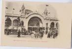 EXPOSITION DE 1900  PALAIS DES FILS TISSUS VETEMENTS  CARTE PRECURSEUR - Exposiciones