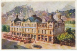 Salzburg Advert Bankhaus Carl Spangler , Bismarckstrasse, TramIll. T. Ruep , F. Morawetz - Autriche