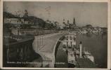 DRESDEN BLICK V.D. CAROLABRUCKE M. BELVEDERE U. SCHIFFEN 1941 - Dresden