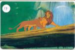 DISNEY  * LION KING  * Télécarte  Les États-Unis (17)  Phonecard USA  * Telefonkarte * - Disney