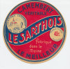 E854/ ETIQUETTE  DE FROMAGE  CAMEMBERT  LE SARTHOIS    SARTHE - Cheese