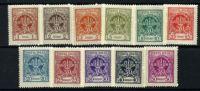 POLAND 1925 MICHEL NO: 213-223 MH - Nuevos