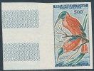 CHAD 1961 BIRDS 500FR SC# C6 IMPERF VF MNH SCARCE - Chad (1960-...)