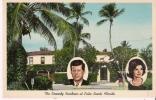 THE KENNEDY RESIDENCE AT PALM BEACH FLORIDA - Etats-Unis