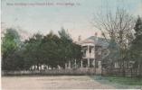 ABITA SPRINGS LA . MAIN BUILDJING LONG BRANCH HOTEL  1912 - Etats-Unis