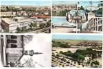 4 Cpsm Algérie, Sétif : Vue Générale, Multivues, Mosquée, Stade Et Cité Lévy - Sétif