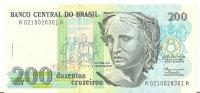 BRESIL 200 CRUZEIROS ND1990 UNC P 229 - Brasilien