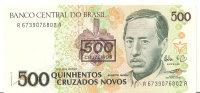 BRESIL 500 CRUZEIROS ND1990 UNC P 226 - Brasilien