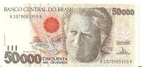 BRESIL 50000 CRUZEIROS ND1992 UNC P 234 - Brasilien