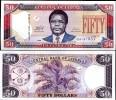 LIBERIA 50 DOLLARS 2009 P NEW UNC - Liberia